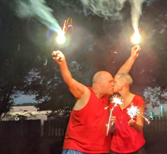 Celebrating!